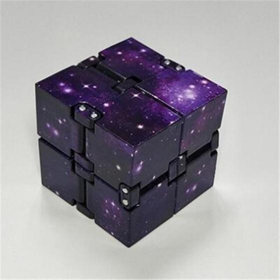 Khối quay lập phương Infinity Cube tặng HandSpinner ICTG