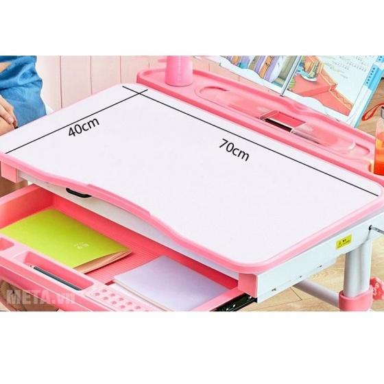 Bộ bàn học thông minh chống gù lưng Kachi MK-102 (hồng)