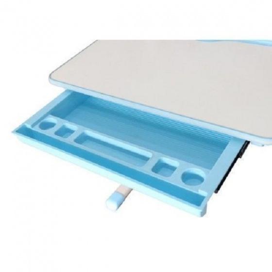 Bộ bàn học thông minh chống gù lưng Kachi MK-102 - xanh dương