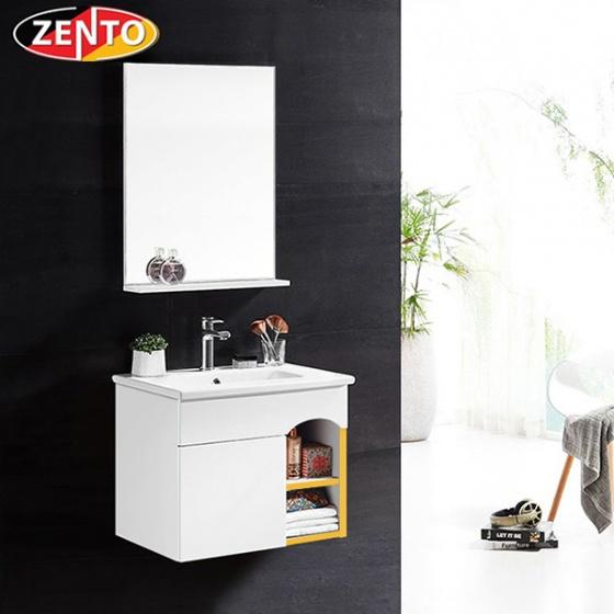 Bộ tủ, chậu, kệ gương Lavabo Zento ZT-LV962 (sản phẩm chỉ ship tại HCM và Hà Nội)