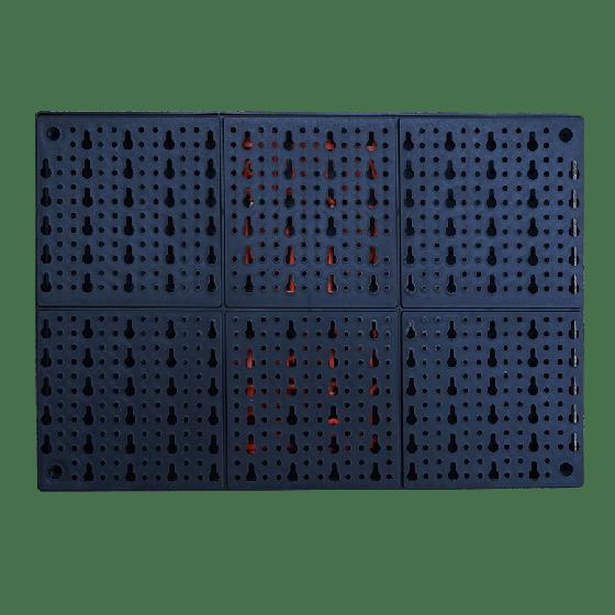 Bảng gắn tường treo dụng cụ bằng nhựa HT33207 Vicantiger