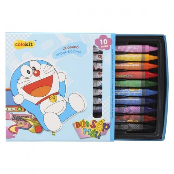 Sáp màu Colokit Doraemon CR-C04/DO