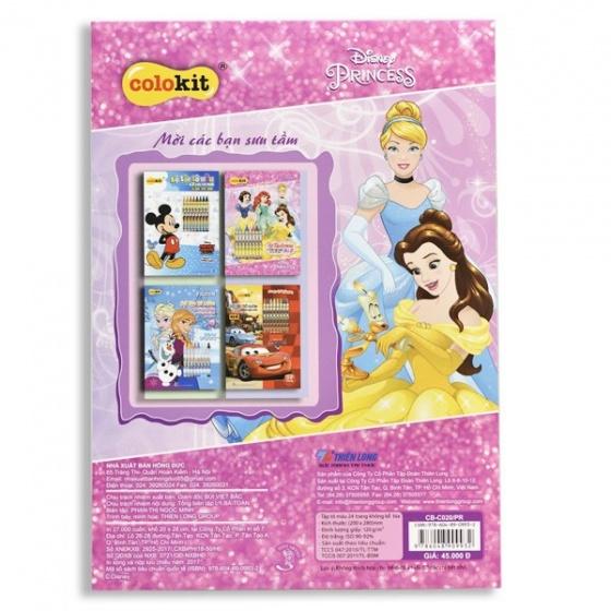 Tập tô màu Colokit Disney Princess CB-C020/PR