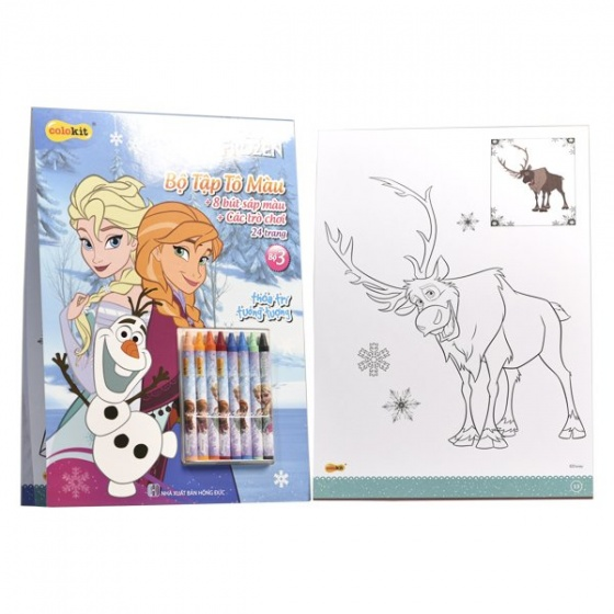 Tập tô màu Colokit Disney Frozen CB-C021/FR
