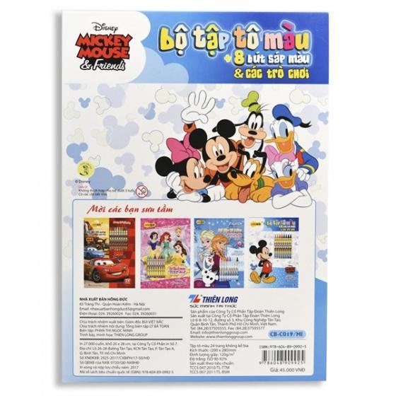 Tập tô màu Colokit Disney Mickey CB-C019/MI