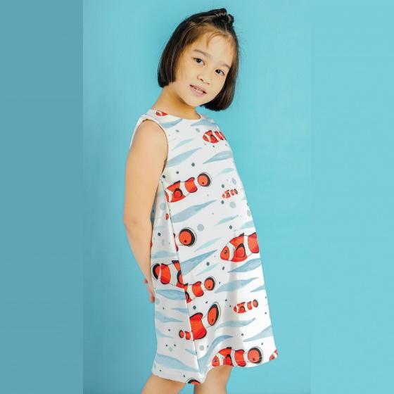 UKID92 - đầm bé gái