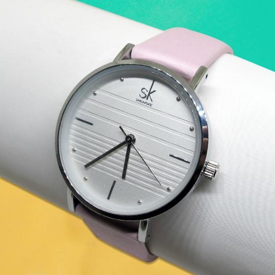 Đồng hồ nữ chính hãng Shengke Korea K8007L-06 hồng