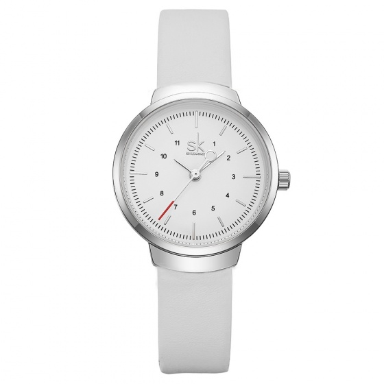 Đồng hồ nữ chính hãng Shengke UK K8035L-01 trắng