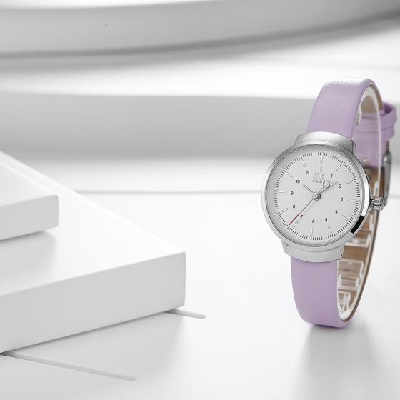 Đồng hồ nữ chính hãng Shengke Korea K8035L-05 tím