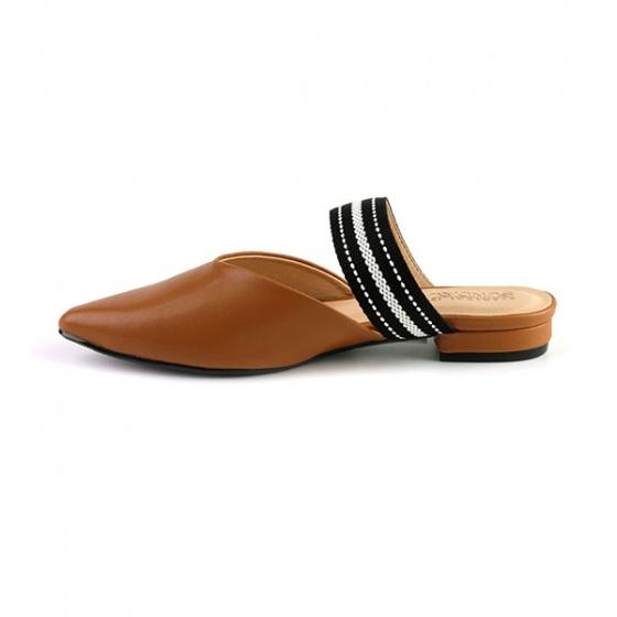 Dép búp bê êm chân Sunday BB29 màu nâu
