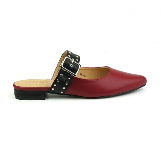 Giày búp bê êm chân Sunday BB25 màu đỏ