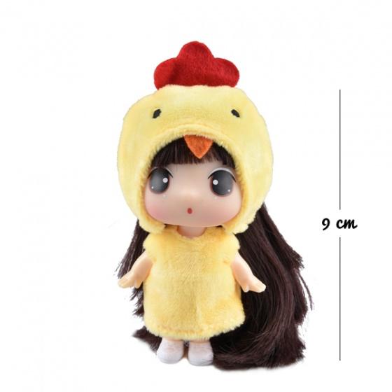 Búp bê Ddung-rooster (tuổi Dậu) FDE0903J 9CM