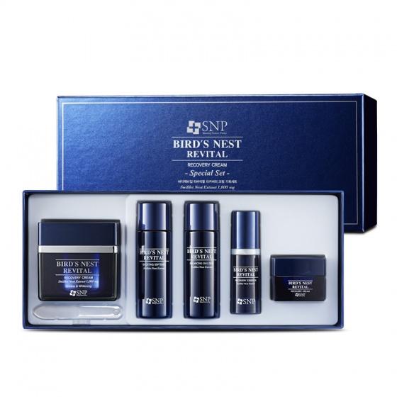Bộ Kem dưỡng tái tạo da - Bird's Nest Revital Recovery Cream Special Set