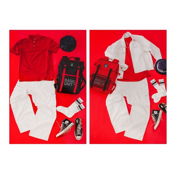 Combo balo thời trang sành điệu và túi đeo halloween Praza - BL175DC106