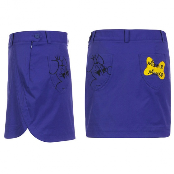 Chân váy ôm dáng ngắn Hàn Quốc Disney Golf DG2LCR037 PU
