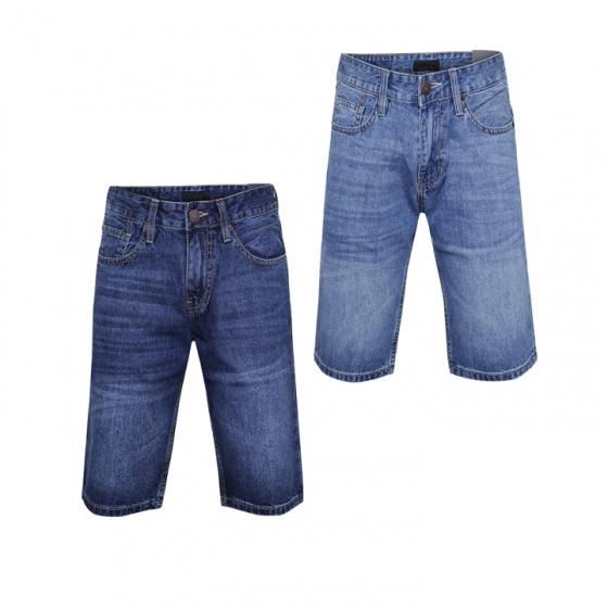 Combo 2 quần short jean nam chuẩn men cao cấp Model Fahion MSJ202