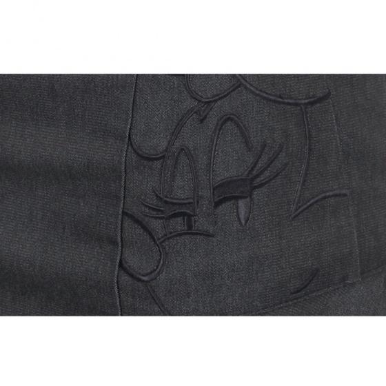 Chân váy đuôi cá dáng ngắn Hàn Quốc Disney Golf DG1LCR002 BK