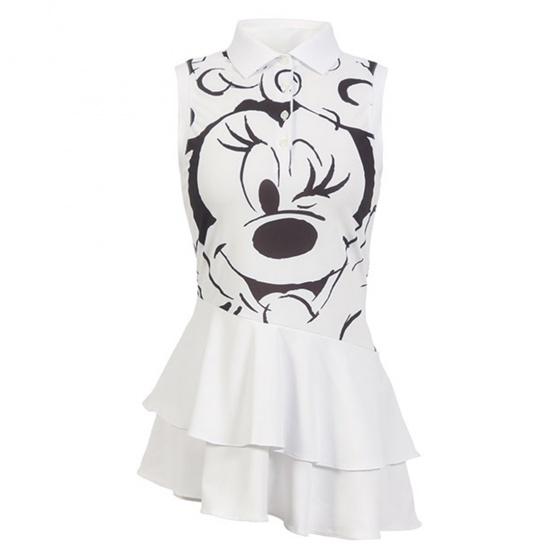 Áo váy Hàn Quốc Disney Golf DG2LTS058 WH