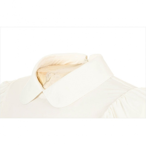 Áo phông nữ ngắn tay cổ lọ Hàn Quốc Disney Golf  DG2LTS057 WH
