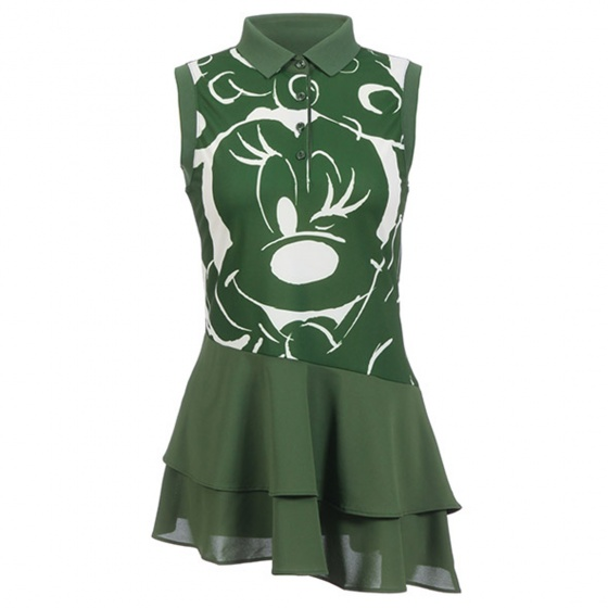 Áo váy Hàn Quốc Disney Golf DG2LTS058 OL