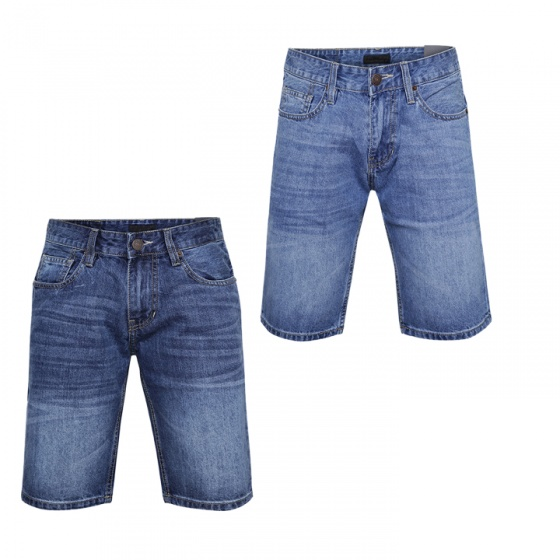 Combo 2 quần short jean nam chuẩn men cao cấp Model Fahion MSJ204
