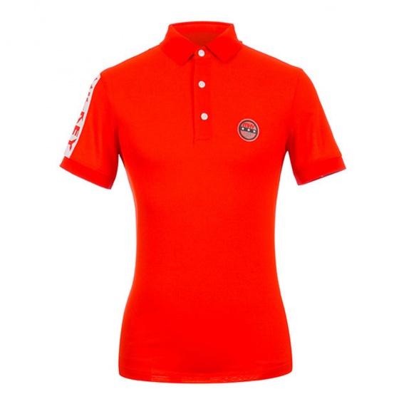 Áo phông nam ngắn tay có cổ Hàn Quốc Disney Golf DG2MTS031 OR