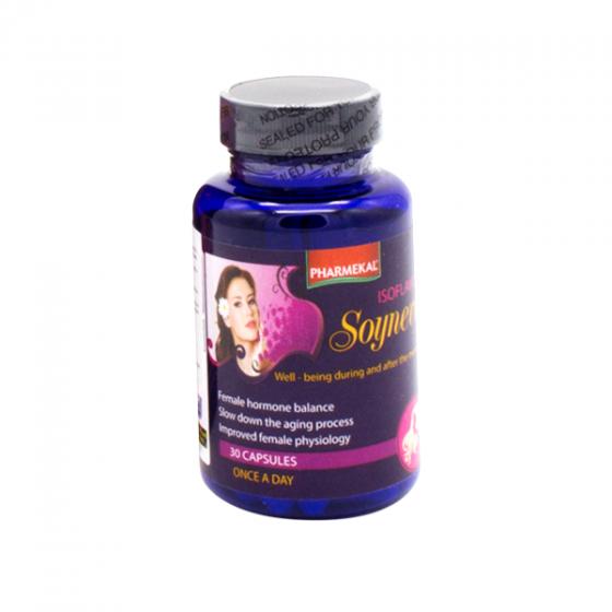 Combo 3 hộp viên uống bổ sung nội tiết tố nữ Soy Isoflavones Pharmekal - 30 viên