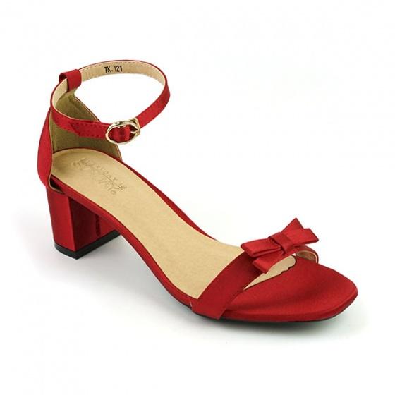 Giày cao gót Sunday DV44 màu đỏ