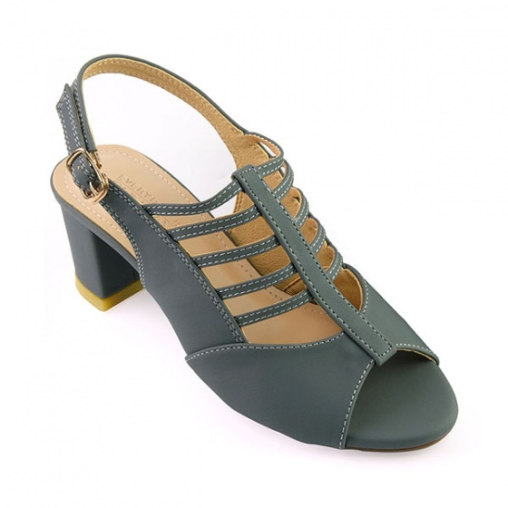 Giày cao gót Sunday DV25 màu xám