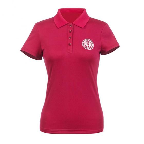 Áo phông nữ ngắn tay có cổ Hàn Quốc Disney Golf DG2LTS095 WI