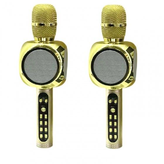 Combo 2 micro karaoke bluetooth JVJ SY-90