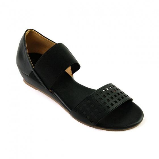 Giày đế xuồng êm chân Sunday DX22 màu đen