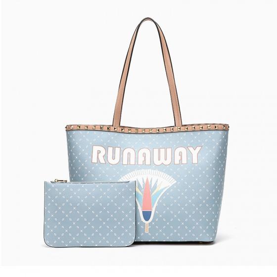 Túi xách Venuco Madrid F60 - xanh da trời Runaway - B25F60