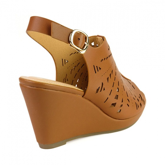 Giày đế xuồng êm chân Sunday DX15 màu nâu