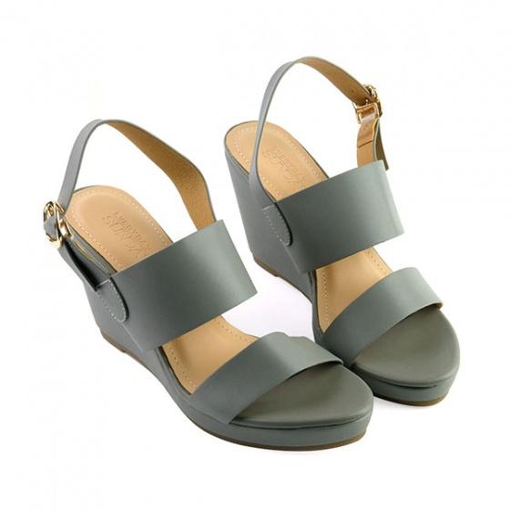 Giày đế xuồng êm chân Sunday DX10 màu xám
