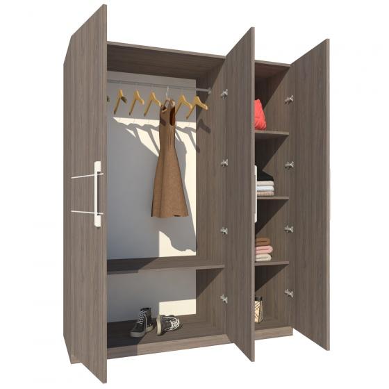 Tủ áo Fine FT003 (140cm x 200cm)
