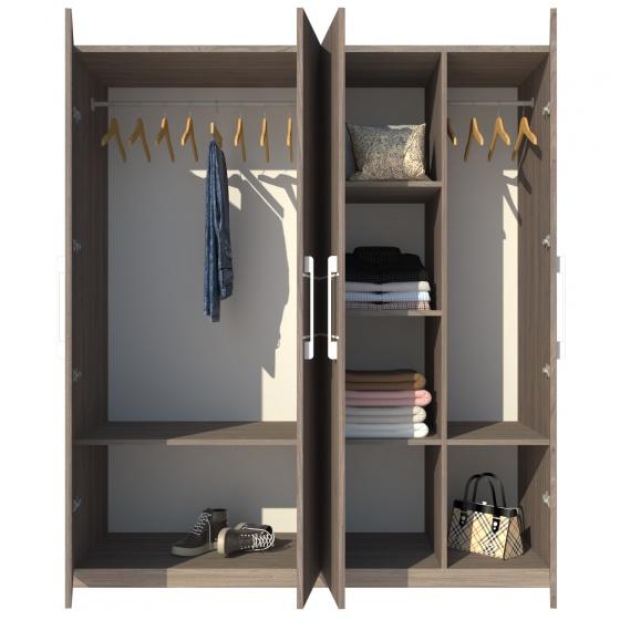 Tủ áo Fine FT012 (180cm x 200cm)