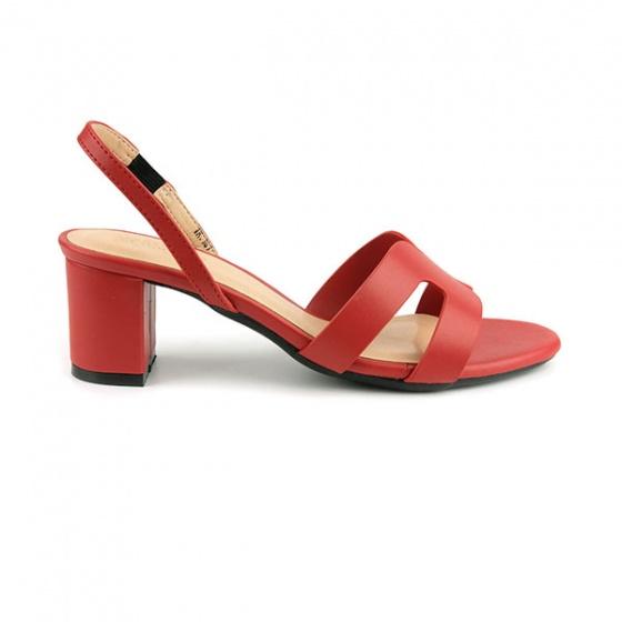 Sandal quai ngang Sunday DV47 màu đỏ