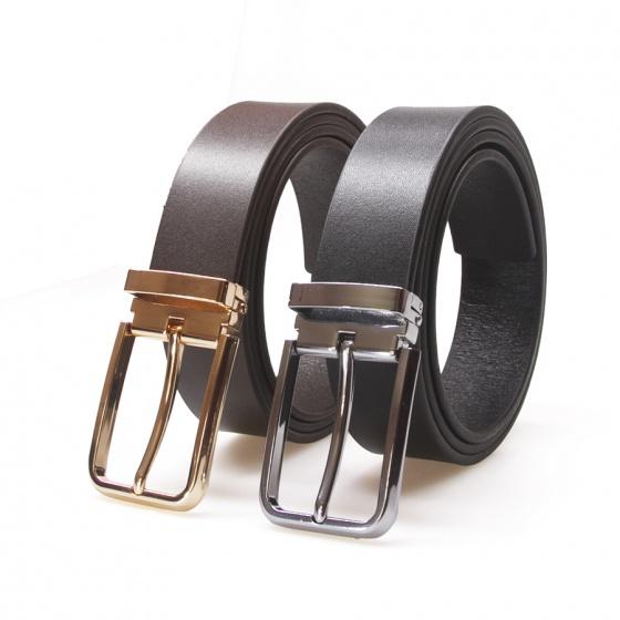 Thắt lưng nam da bò thật 100% dành riêng cho quần âu Manzo 107 (tặng đinh đục lỗ) - dây nịt Manzo 107