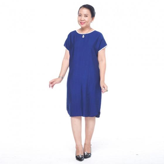 Đầm nữ trung niên form suông - UPAR40