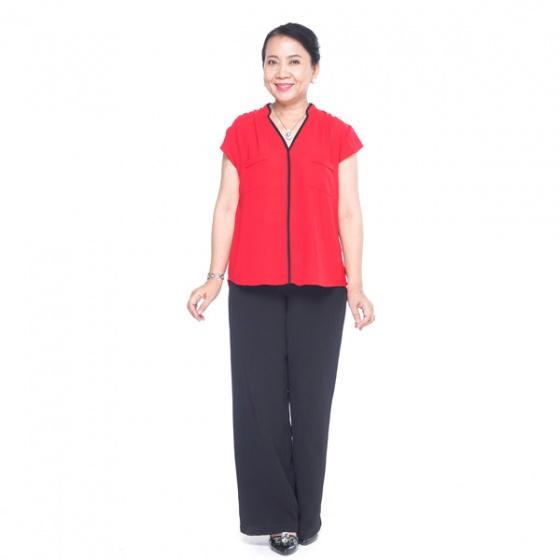 Áo kiểu nữ trung niên - UPAR38