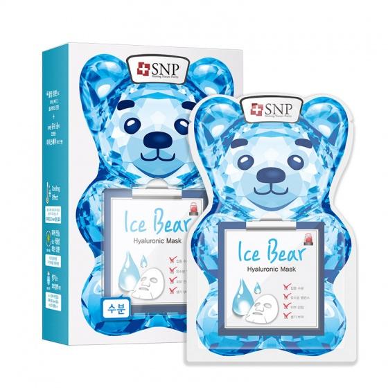 Mặt nạ gấu băng dưỡng ẩm chuyên sâu - Ice Bear Hyaluronic Mask