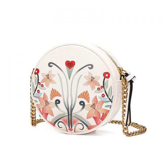 Túi xách Venuco F56 - trắng hoa - C05F56