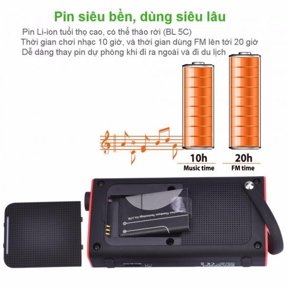 Loa Bluetooth mini kiêm đài FM - AVANTREE SP850 - A2023
