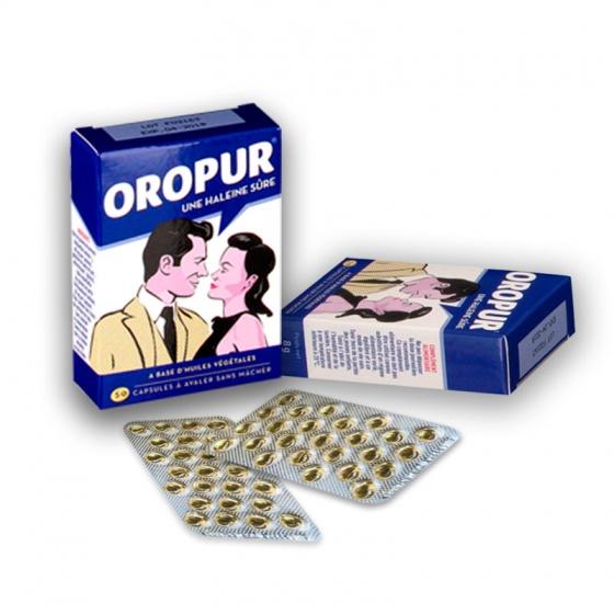 (Chính hãng từ Pháp) combo 3 hộp viên uống chống hôi miệng Oropur 50 viên [QC-Vneshop]