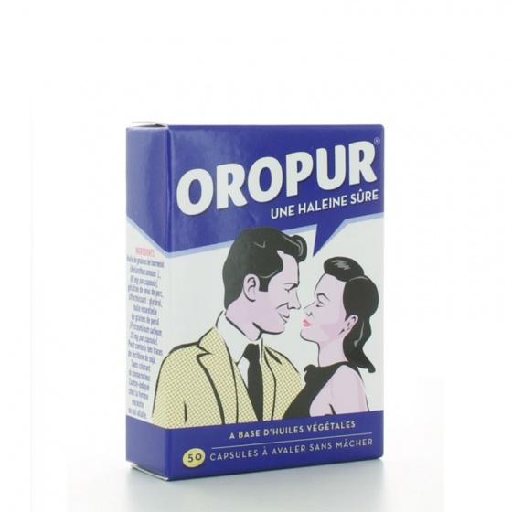 (Chính hãng từ Pháp) combo 3 hộp viên uống chống hôi miệng Oropur 50 viên