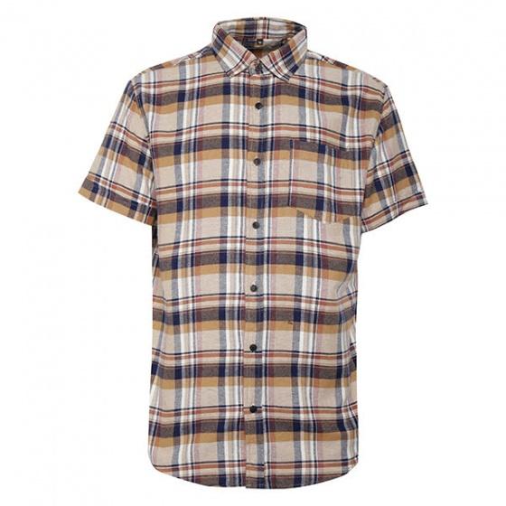 Bộ 2 áo sơ mi ngắn tay sọc caro thời trang tặng kèm 1 dây nịt SMC2948