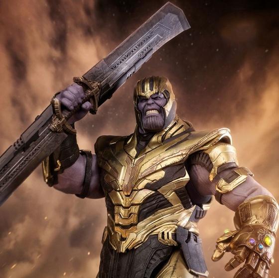 Móc khóa đồ chơi mô hình avengers Thanos sword end game cuộc chiến vô cực infinity war