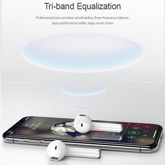 Tai nghe Airpod USAMS US-LQ001 Bluetooth 5.0 cho Android, Apple