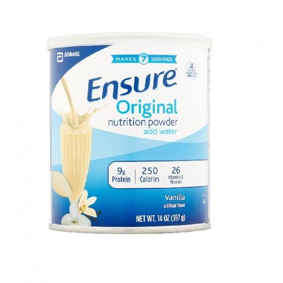 Sữa Ensure Original Nutrition Powder 400g - nhập khẩu Mỹ